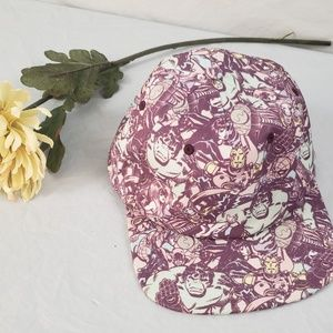 {MARVEL} Purple snap back hat
